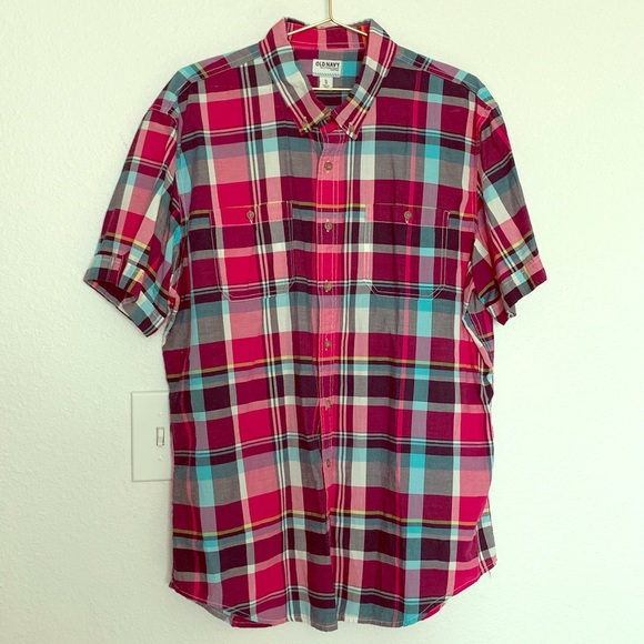 Old Navy Other - Old Navy | Men's Button Down Short Sleeve Shirt